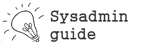 Sysadmin Guide